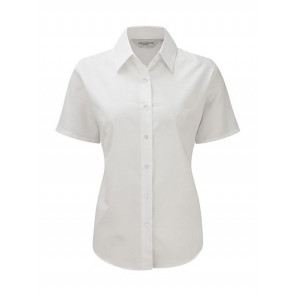 Russell Ladies Oxford Bluse