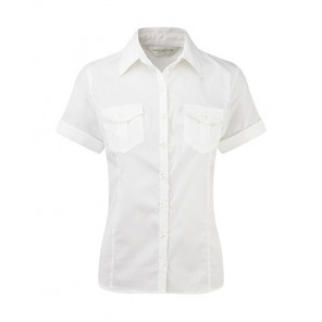 Russell Ladies Roll Sleeve Shirt