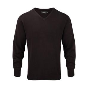 Russell V-Neck Knit-Pullover