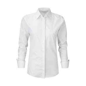 Russell Ladies LS Ultimate Stretch Shirt