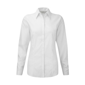 Russell Ladies LS Herringbone Shirt