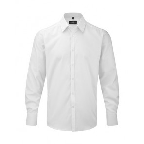 Russell Mens LS Herringbone Shirt