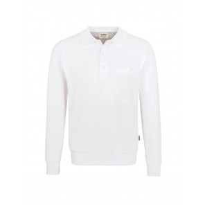 Hakro Pocket-Polo-Sweatshirt Premium